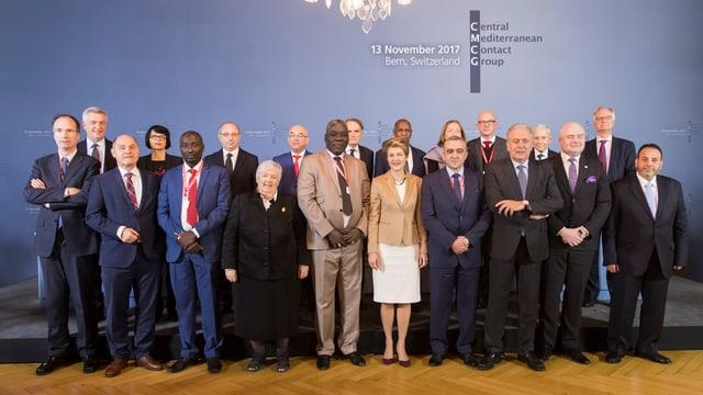 La gruppa da contact per la Mar Mediterrana unida tar la conferenza da fugitivs.