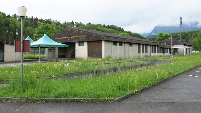 Das «Regionale Zivilschutz-Ausbildungszentrum» in Allmendingen bei Thun.