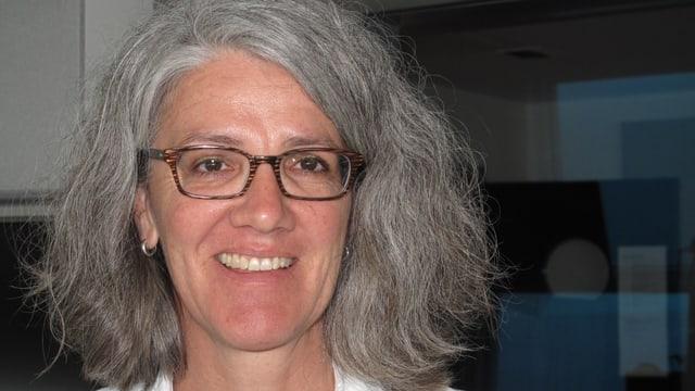Portrait der Sarner Gemeinderätin Manuela von Ah