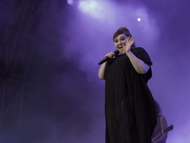 Beth Ditto dat ses concert