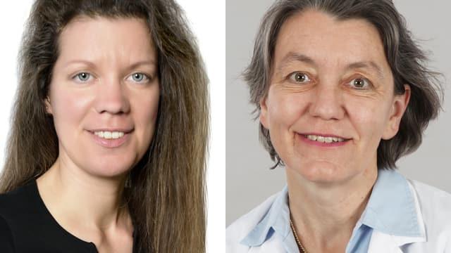 Portraitaufnahme der beiden Chat-Expertinnen
