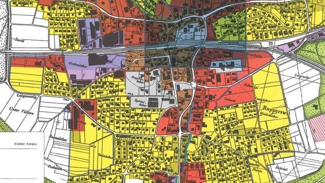 Zonenplan Rupperswil