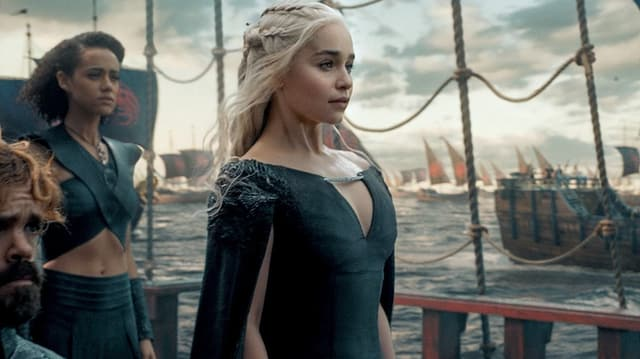 «Game of Thrones»-Drachenherrscherin Daenerys hat spannende Aussichten: 2019 kämpft sie die finale Schlacht gegen die Untoten.