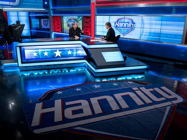 Fernsehstudio des US-Sender FOX News