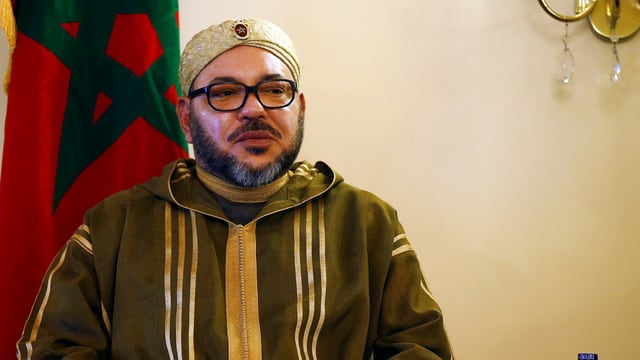 Ein Bild von König Mohammed VI.