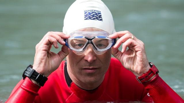 Der Schwimmer Ernst Bromeis