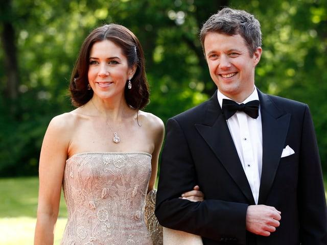 Kronprinzessin Mary und Kronprinz Frederik von Dänemark