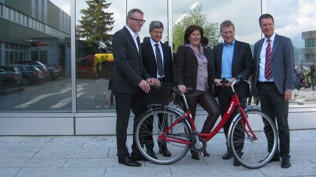 Fahrrad und Politiker