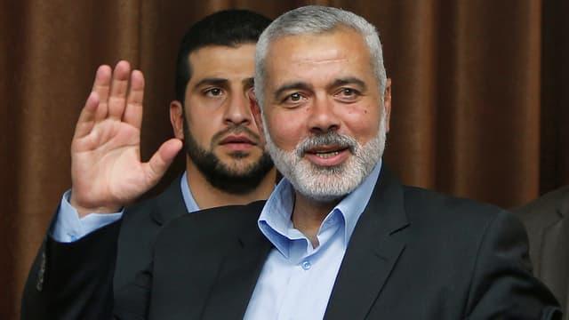 Ismail Hanija im Porträt.