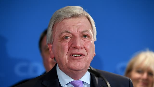purtret da Volker Bouffier, primminister da Hessen