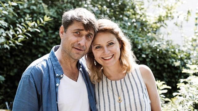 Kurt und Renate (Stephan Bürgi und Rea Andrea Kurmann)