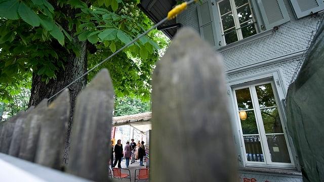 Blick ins Fixerstübli an der Hodlerstrasse