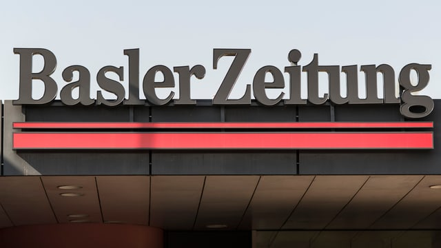 Logo da la gasetta «Basler Zeitung».