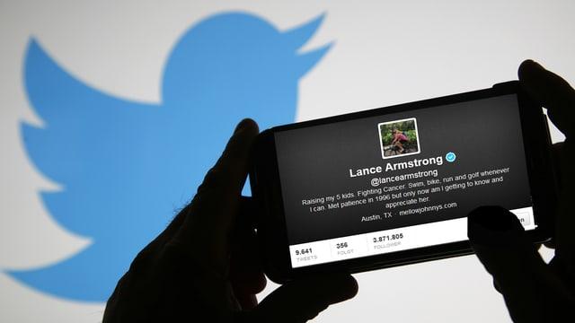 Lance Armstrongs angebliche Beichte bewegt die Twitter-Community.