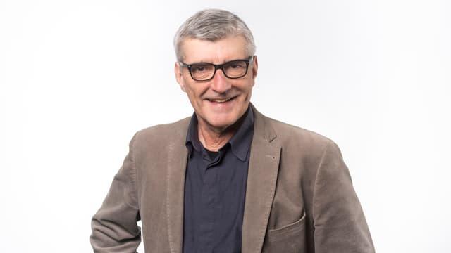 Arnold Rauch, in redactur da Radiotelevisiun Svizra Rumantscha