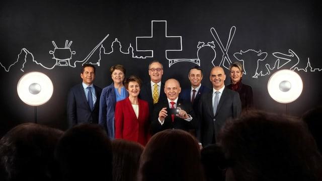 Das offizielle Bundesratsfoto
