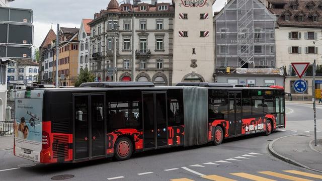 Ein Churer Stadtbus.