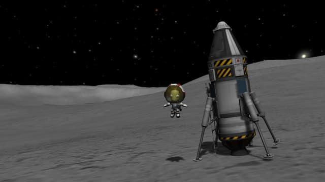Valentina Kerman hat es auf den Mond geschafft.