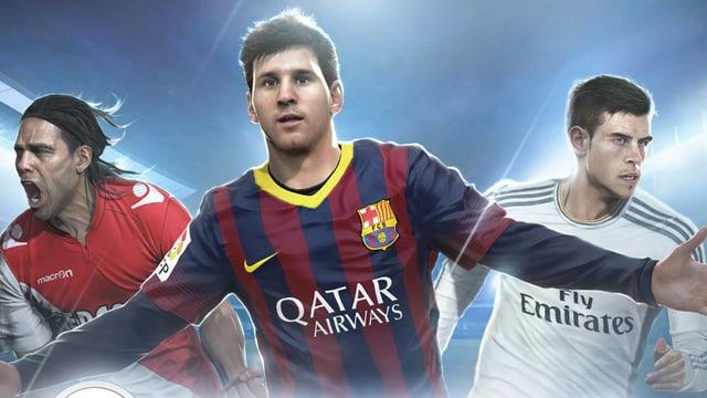 Fifa-Fussballspiel