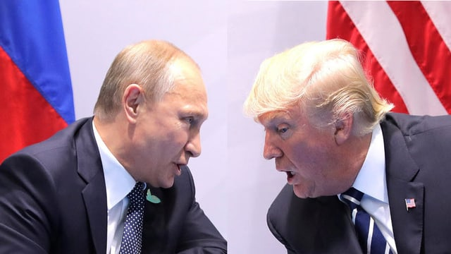 Wladimir Putin und Donald Trump.