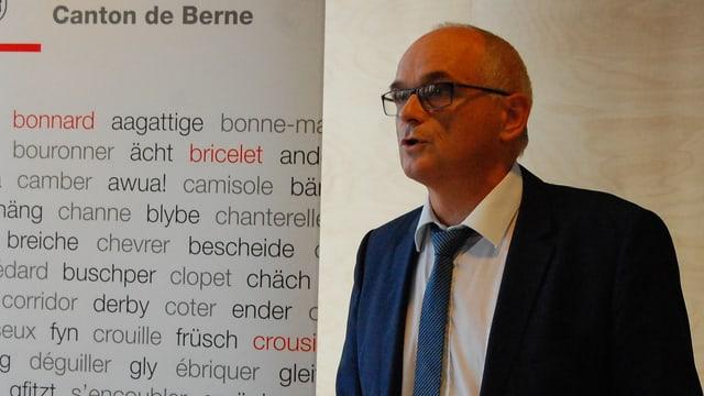 Regierungsrat Pierre-Alain Schnegg