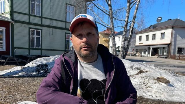 Sprachlehrer Henrik Blind