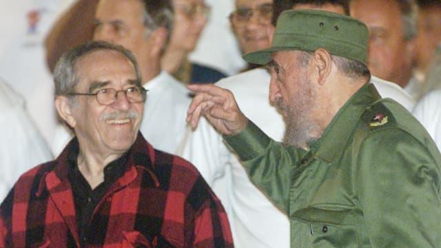 Garcia und Fidel im Gespräch.