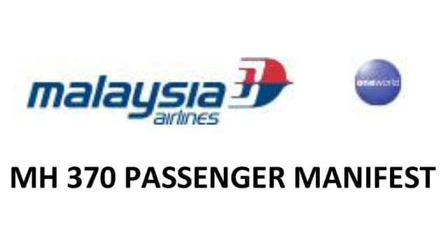 Kopfzeile der Passagierliste.