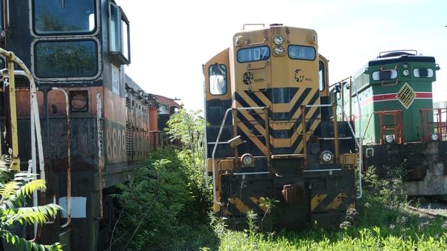 Ausrangierte Züge