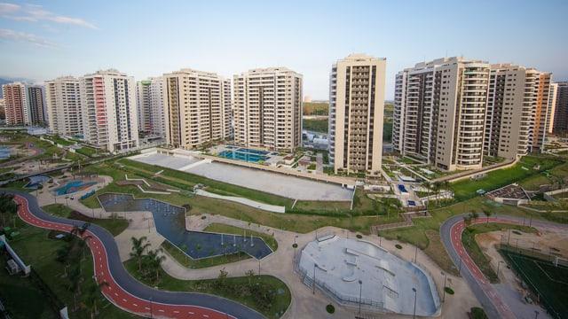 Das Olympic Village in Rio.