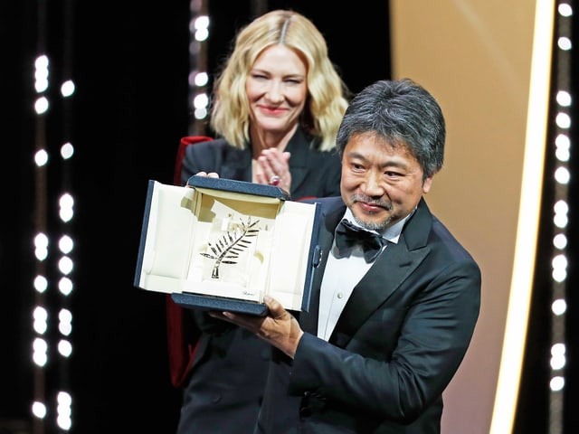 Kore-Eda Hirokazu und Cate Blanchett
