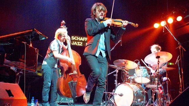Das Tobias Preisig Quartett spielt am Schaffhauser Jazzfestival.