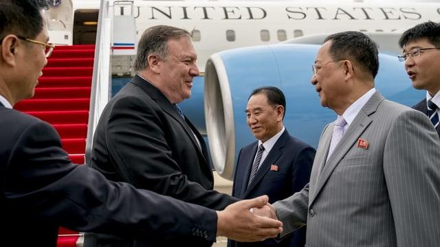 Nordkorea beruft Chefunterhändler für Verhandlungen mit USA ab