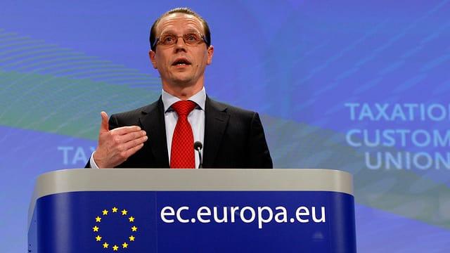 EU-Steuerkommissar Algirdas Semeta