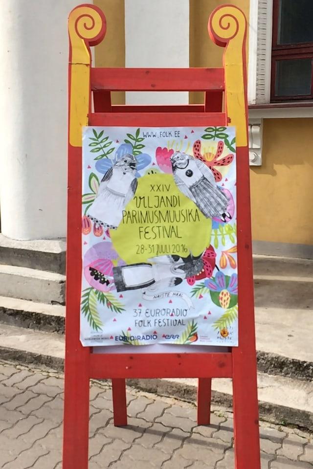In placat dal festival a Viljandi