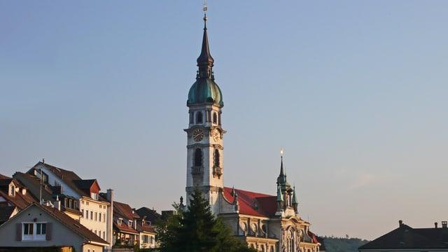 Die katholische Kirche in Frauenfeld.