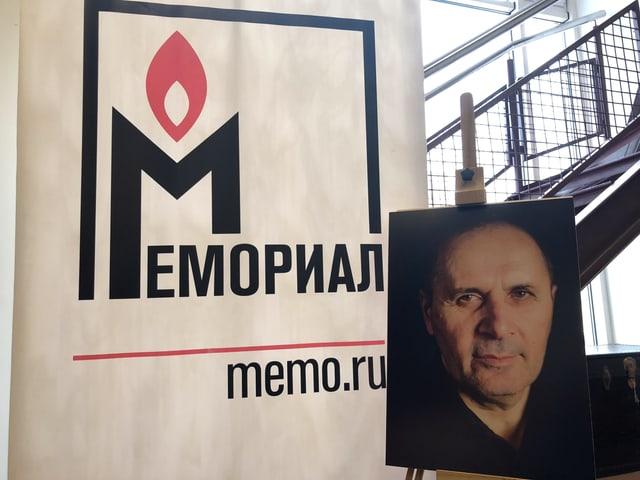 Menschenrechtler Oyub Titiew.