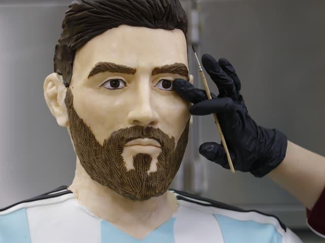 Messi als Figur