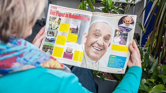 Der Name sagt's: Im Magazin «Mein Papst» um den Pontifex.