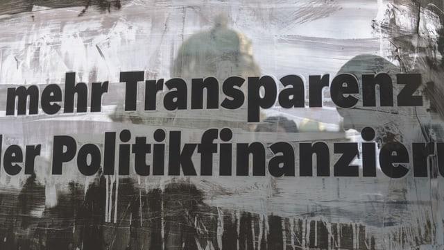 Placat a Berna cun il slogan da l'inizativa