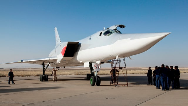 Ein russischer Kampfjet