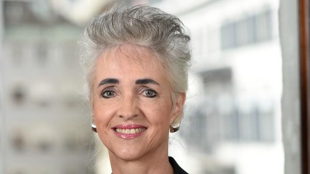 Porträt der Zürcher Regierungsrätin Carmen Walker Späh