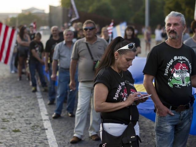Jobbik-Anhänger