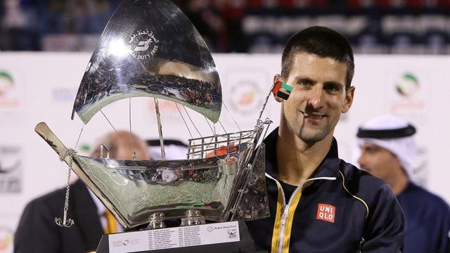 Novak Djokovic bleibt in diesem Jahr weiter ungeschlagen.
