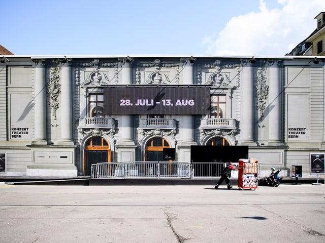 Provisorium des Stadttheater Bern in der Innenstadt.