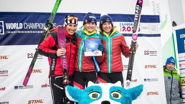 Arina Riatsch sin il podest dal campiunadi mundial