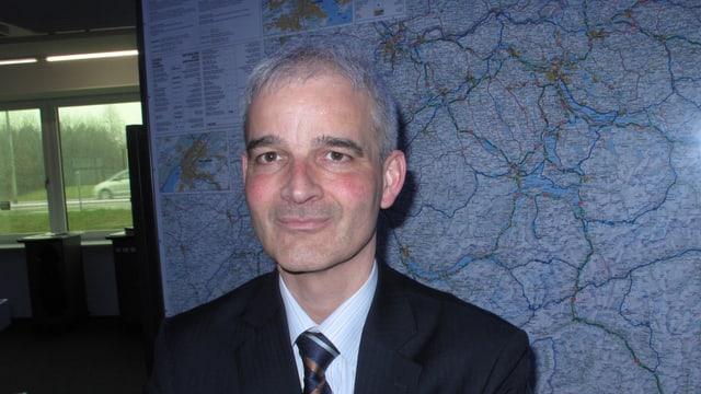 Jörg Dreier, der Leiter der Verkehrsmanagementzentrale des Bundes.