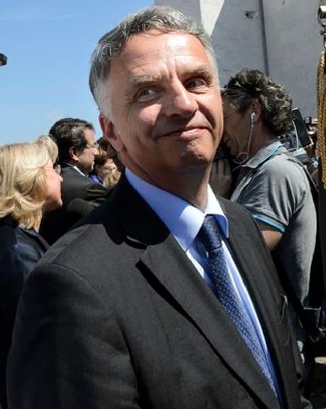 Lächelnder Didier Burkhalter.