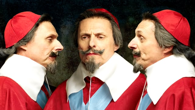 Video «Bilder allein zuhaus: Dreifaches Porträt von Richelieu (28/30)» abspielen