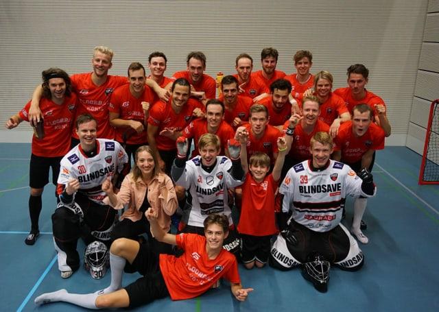 Mannschaftsbild von Floorball Köniz.